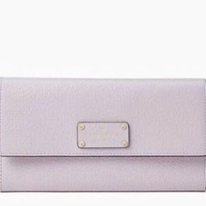 NWT Kate Spade Wellesley Jean Leather Wallet WLRU5